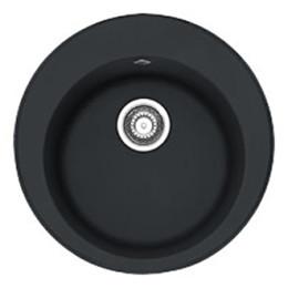 Кухонная мойка черная Franke Ronda ROG 610 114.0381.019, цвет оникс