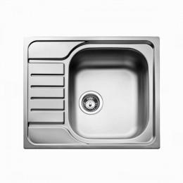 Кухонная мойка Teka из нержавеющей стали, матовая, врезная, 58x50см UNIVERSAL 580.500 1B 1D 30000065 Тека