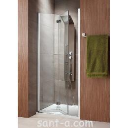 Складные душевые двери Radaway Eos DWB типа Bi-fold 37883-01-01NL