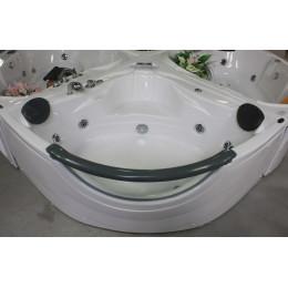 Ванна угловая с гидромассажем и пневмо управлением Appollo 152x152x71cм АТ-2121 (код 002315)