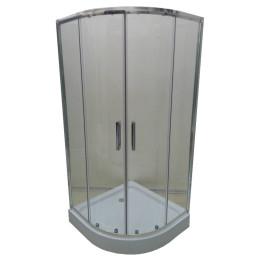 Душевая кабинка Veronis KN-3-100 100х100х195см, прозрачная