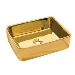 Золотой умывальник Newarc Silver countertop 51 (5011G)