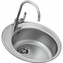 Кухонна мийка Teka з нержавіючої сталі, матова, врізна, 51х51см Basico 510 10124021 Тека