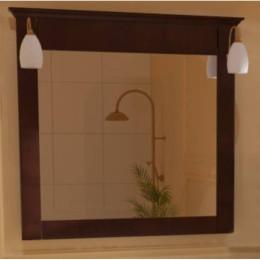 Дзеркало для ванної кімнати Marsan DESIREE 950х920мм венге** (Марсан 3-Дезіре)