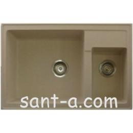 Врізна мийка кухонна Brenor (LESTE)