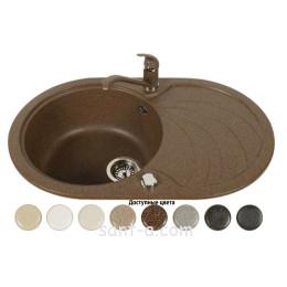 Врізна мийка кухонна Brenor (SOLANO 20)