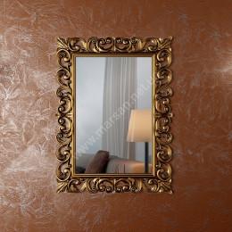 Зеркало античное для ванной комнаты Marsan Angelique 750x1000 золото/серебро** (Марсан 2-Анжелика)