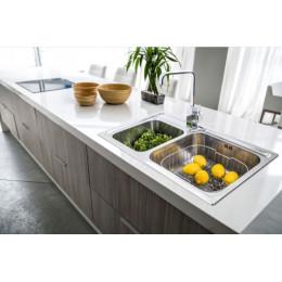 Подвійна раковина для кухні Franke Galassia GAX 620 101.0017.507