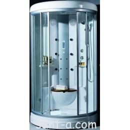 Гидробокс без пара на мелком поддоне Appollo 1030x1030x2230 мм, угловой TS-0817FW (код 026668)