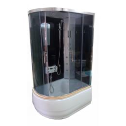Гідромасажний бокс Atlantis AKL-120P(GR)R правий 120х80х215см