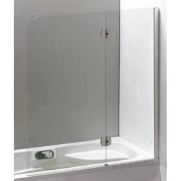 Распашная шторка для ванны Eger 120x150см 599-120CH/R (код 046179)