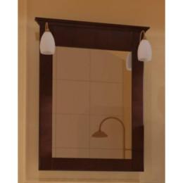 Зеркало для ванной комнаты Marsan DESIREE 750x920мм венге** (Марсан 2-Дезире)