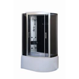 Душевой бокс на глубоком поддоне Vivia 167 L RC 120х80х215см, левосторонний c электроникой