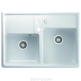 Накладна кухонна мийка Marmorin EWIT 2k дві чаші (515 203 0xx)