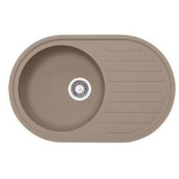 Кухонна мийка з каменю Franke Ronda ROG 611 114.0381.064, колір мигдаль