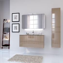 Зеркало со светильником для ванной комнаты Marsan ADELE, 70х110х2,5см (Марсан 18-Адель)