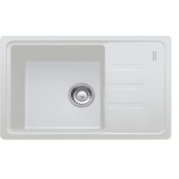 Кухонная мойка белая Franke Malta BSG 611-62 114.0375.042