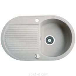 Врезная кухонная мойка Marmorin DURO 1k 1o одна чаша, одно крыло (130 113 0xx)