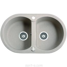 Врезная кухонная мойка Marmorin DURO 2k две чаши (130 203 0xx)