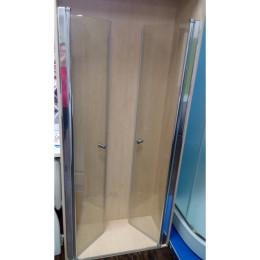 Душевая дверь Atlantis ACB-30-90 профиль хром/стекло прозрачное 90х190см