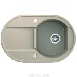 Врезная кухонная мойка Marmorin OTAGO 1k 1o одна чаша, одно крыло (505 113 0xx)