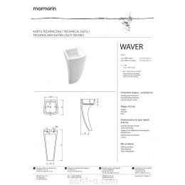 Умывальник Marmorin Waver (470 040 020 xxx)