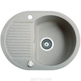 Врезная кухонная мойка Marmorin DURO 1k 0,5o одна чаша, малое крыло (130 133 0xx)