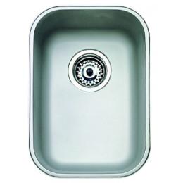 Кухонная мойка Teka из нержавеющей стали, полированная, монтаж под столешницу, 30,7х43,3м BE 28.40 (18) 10125003 Тека