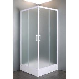 Квадратна душова кабіна Eger VI'Z 80~90x185 см 599-005/1