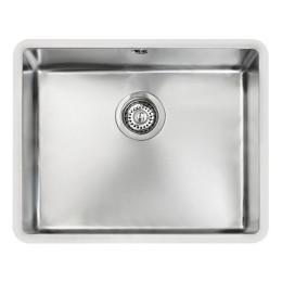Кухонна мийка Teka з нержавіючої сталі, полірована, монтаж під стільницю, 54х44см BE LINEA 50.40 R15 10125134 Тека