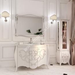 Тумба напольная для ванной комнаты 1200x560мм Marsan BERNARDE (Марсан 7-Бернард), белая
