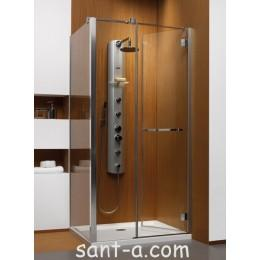 Душевая кабинка Radaway Carena KDJ с дверью, открывающейся внутрь 90х90см 34402-01-01NL