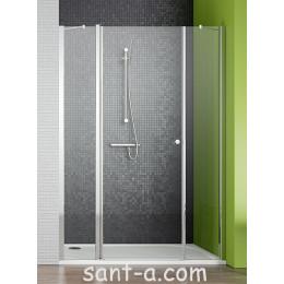 Душевые двери в нишу с добавочной стенкой Radaway Eos II DWS 3799454-01L