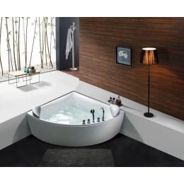 Гидромассажная ванна Golston G-U1026 с аэромассажем 1500x1500x630мм