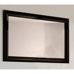 Зеркало для ванной комнаты Marsan VIRGINIE 100x75см в цвете (Марсан 2-Вирджинии) белое/черное/капучино