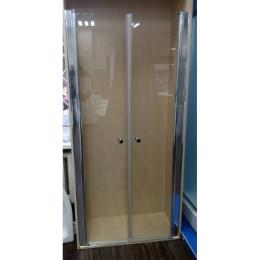 Душові двері Atlantis ACB-30-100 профіль хром/скло прозоре