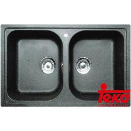 Подвійна гранітна мийка Teka 88688 ALBA 90 B-TG Тека
