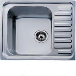 Кухонна мийка Teka з нержавіючої сталі, полірована, врізна, 65х50см Classic 1B 30000055 Тека
