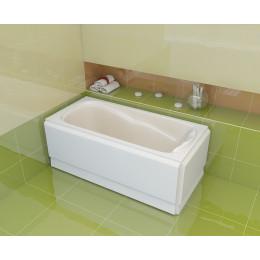 Маленька ванна Artel Plast Іскра 130х75 ISKRA, колір білий