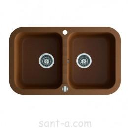 Кухонна мийка Marmorin IGNIS 2k дві чаші (435 203 0xx)