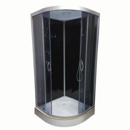 Душевой бокс Atlantis AKL 1325P-T ECO (GR) 80x80x220см