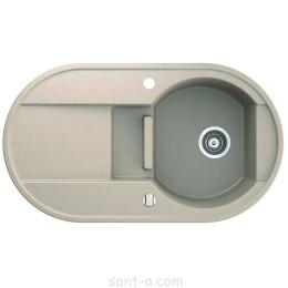 Врізна кухонна мийка Marmorin OTAGO 1,5 k 1o півтори чаші, одне крило (505 513 0xx)