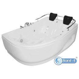 Ванна з гідро-аеромасажем Appollo 1800х1240х660 мм, права AT-0919-A (код 002317)