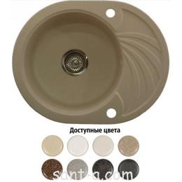 Врізна мийка кухонна Brenor (SOLANO 10)