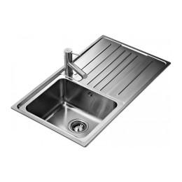 Кухонна мийка Teka з нержавіючої сталі, полірована, врізна, 86х50см STAGE 45 B 30000560 Тека