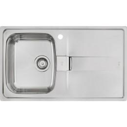 Кухонна мийка Teka з нержавіючої сталі, полірована, врізна, 86х50см STENA 45 B 10131001 Тека