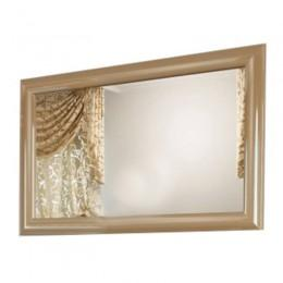 Зеркало для ванной комнаты Marsan VIRGINIE 120x75см в цвете (Марсан 3-Вирджинии) белое/черное/капучино