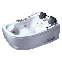 Ванна с гидромассажем и пневмокнопкой Appollo 1800x1240x660 мм, правая АТ-0919 (код 002313)