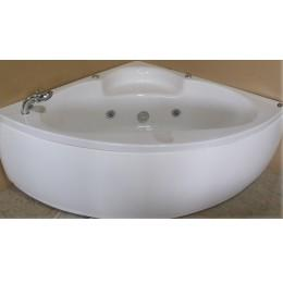 Ванна угловая с гидромассажем и пневмо управлением Appollo 140x140x62см со смесителем АТ-970-F (код 032160)