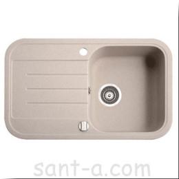 Врезная кухонная мойка Marmorin PESTA 1k 1o одна чаша, одно крыло (170 113 0xx)